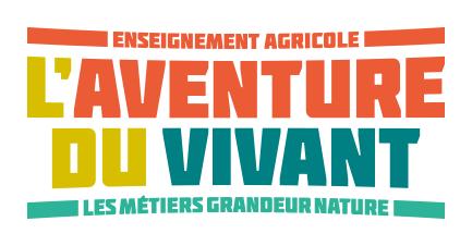Logo l'aventure du vivant, les métiers grandeurs natures Lien vers: https://agriculture.gouv.fr/
